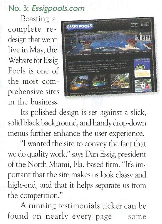 Online Honors - ESSIG (Pool & Spa News, AUG 2009).jpg